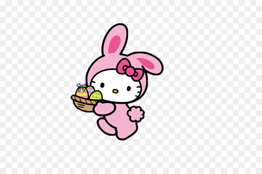 Easter Bunny Hello Kitty Desktop Wallpaper Mobile Phones Hello Png