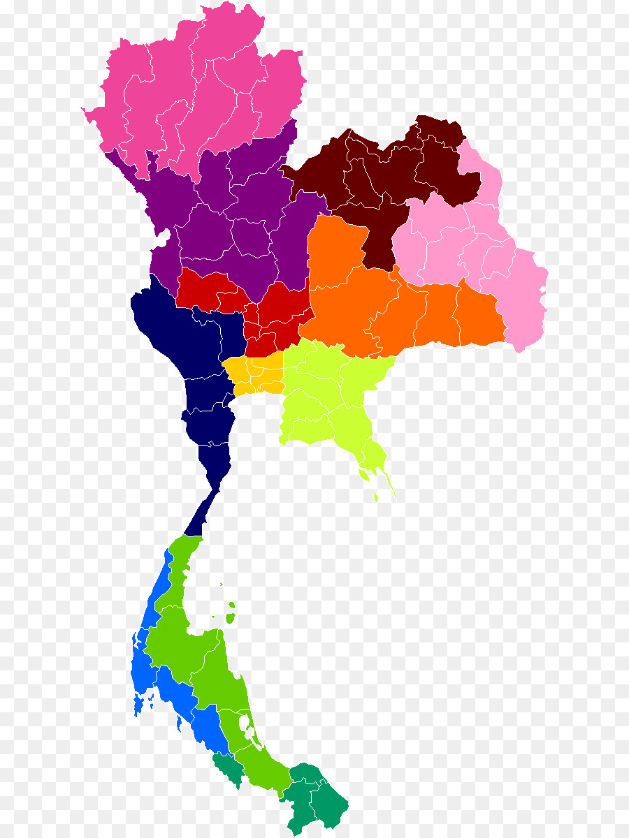 Thailand Next Thai General Election Map Thailand Png Download