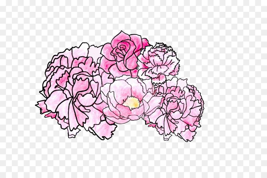 Pink Flower Cartoon Png Download 800 600 Free Transparent