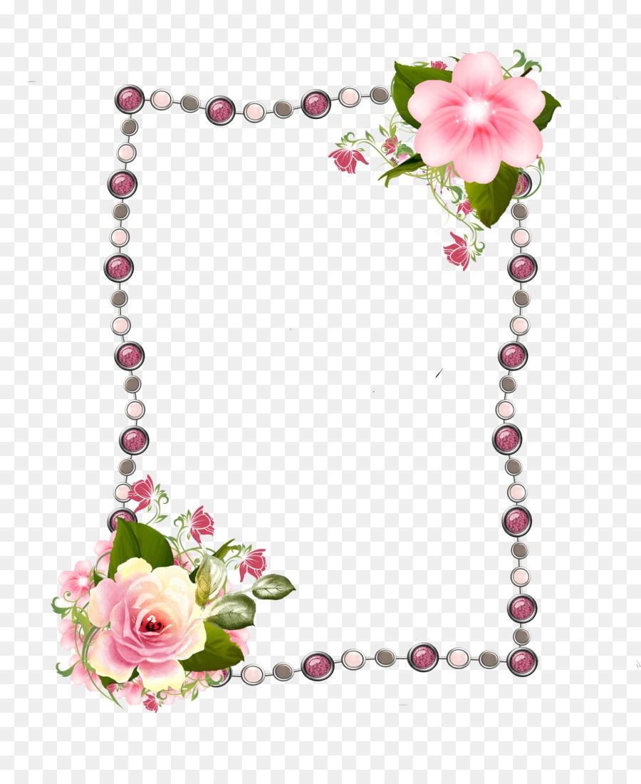 Picture Frames Rose Photography Clip art - rose frame png download ...