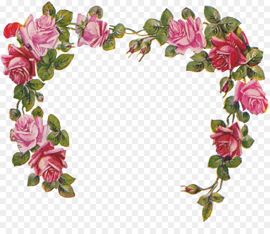 Cherub Smiling Angel Clip art - rose frame png download - 2488*2103 ...