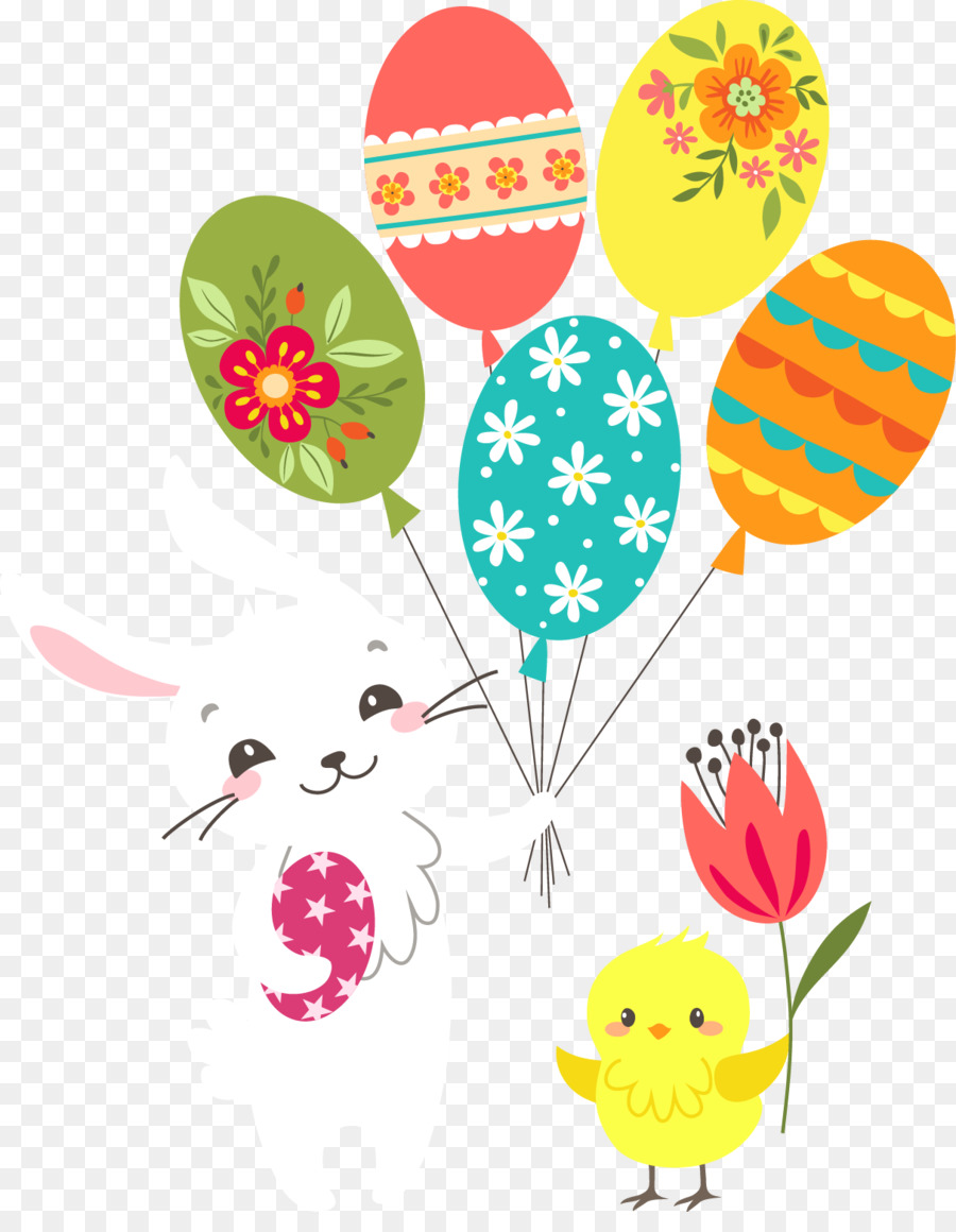 easter bunny greeting note cards easter postcard pascoa png