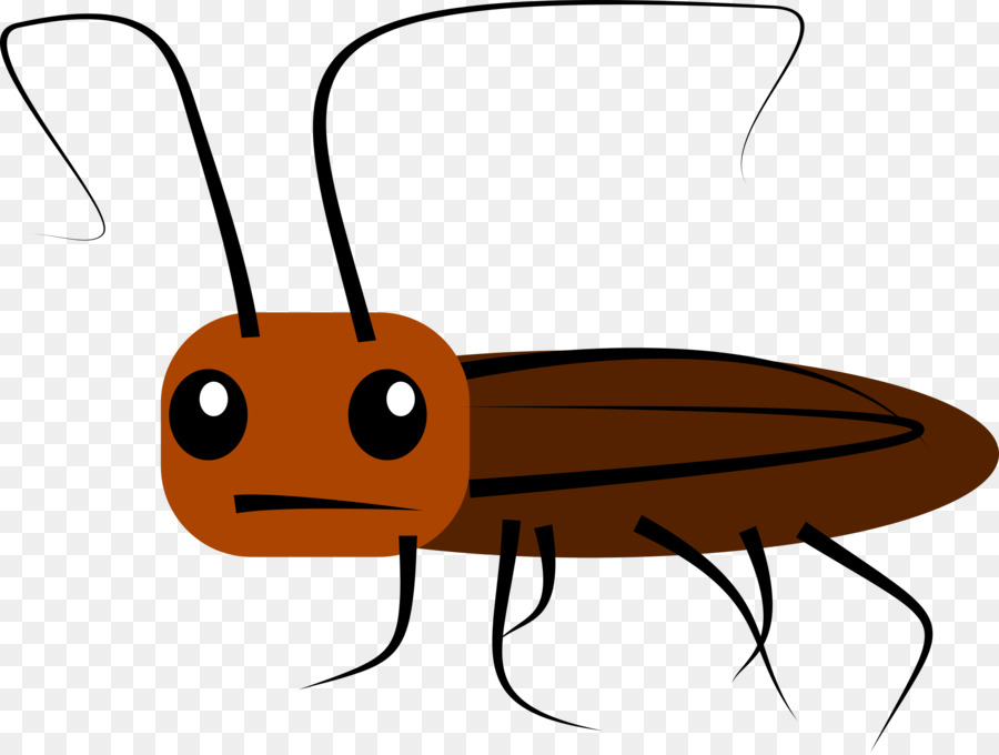 Cockroach Cartoon Clip art - cockroach png download - 2400*1808 ...
