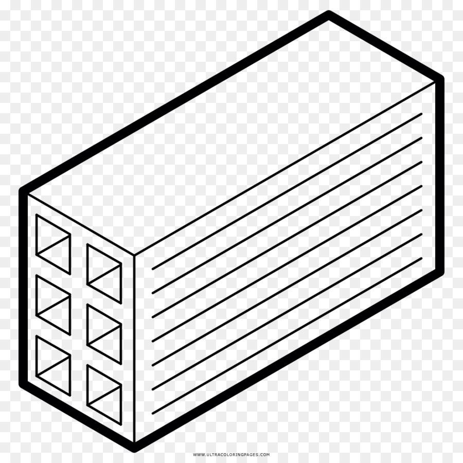 Drawing Brick Coloring book Ladrillo hueco Kleurplaat - flor png ...
