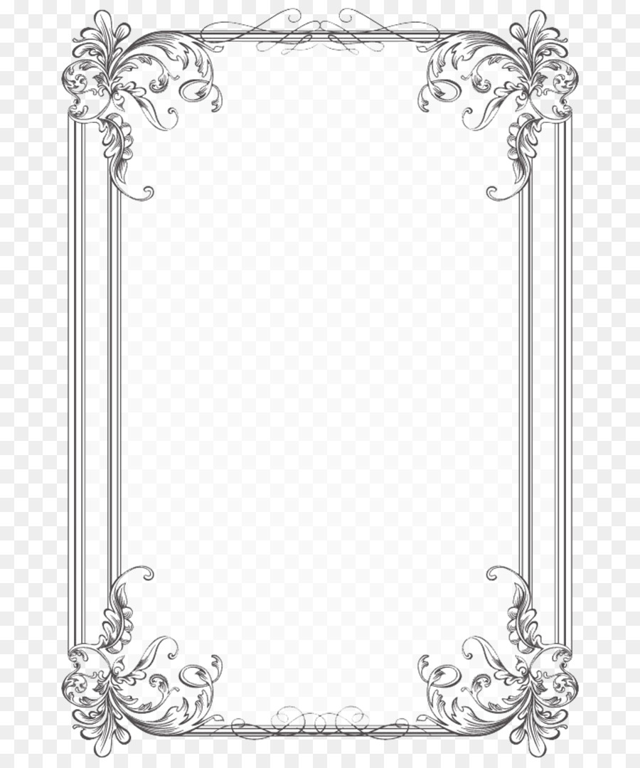 Borders And Frames Wedding Invitation Picture Frames Microsoft Word