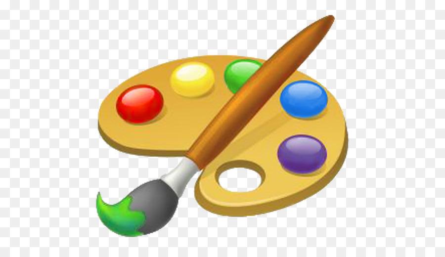 Free Clipart Artist Paint Brush