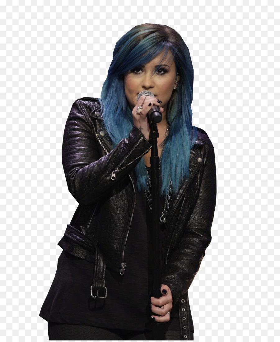 Demi Lovato Biru Rambut Mewarnai Rambut Manusia Rambut Warna