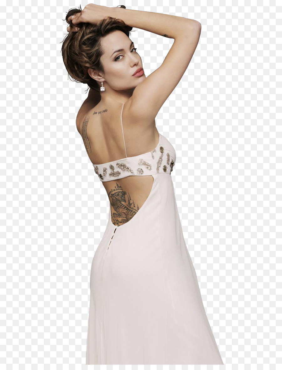 Pernambuco Wedding dress PhotoScape - angelina jolie png download ...