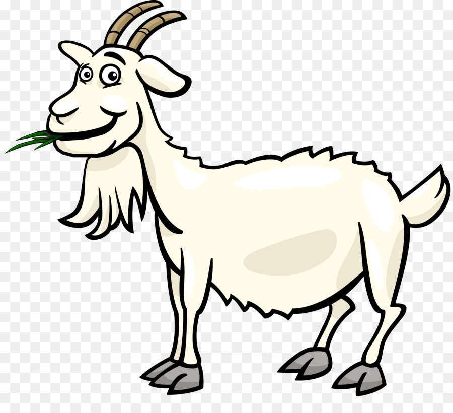 Fainting Goat Black Bengal Boer Sheep Clip Art