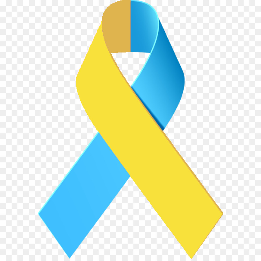 Awareness Ribbon Down Syndrome Clip Art Blue Ribbon Png Download