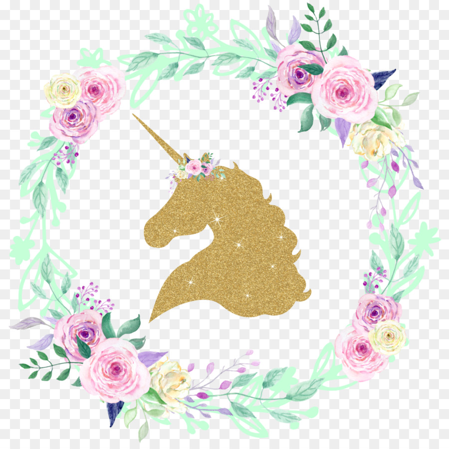 Unicorn Glitter Decal Iron-on Clip art - Unicorn background png ...