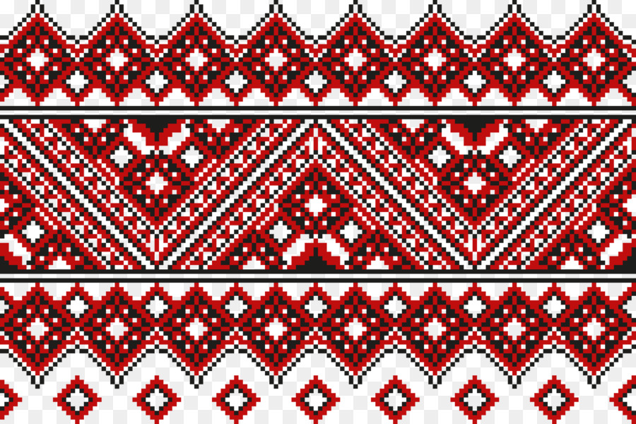 Ukrainian Embroidery Cross Stitch Pattern Embroidery Png Download