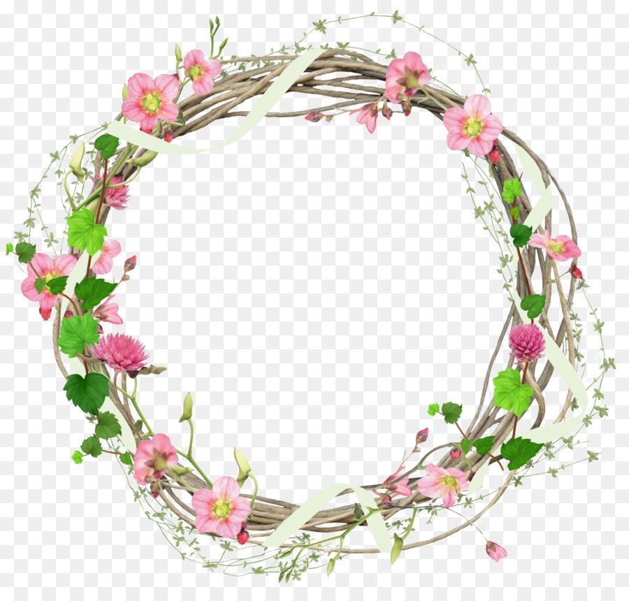 Flower Circle Frame Png Download 2308 2180 Free