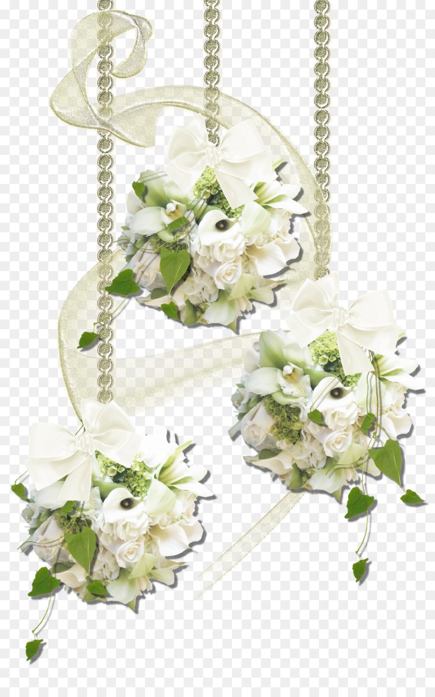 Wedding Flower Clip Art White Flower Png Download 13202095