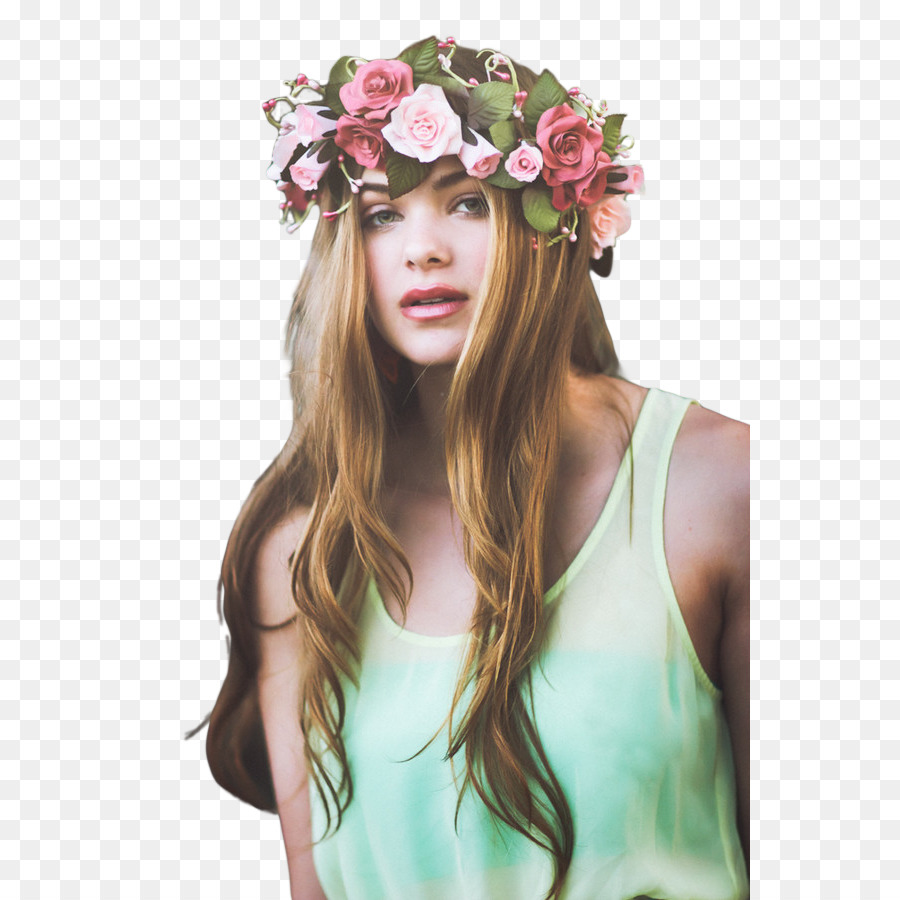 May Queen Photography Model Crown Flower Crown Png Download 600