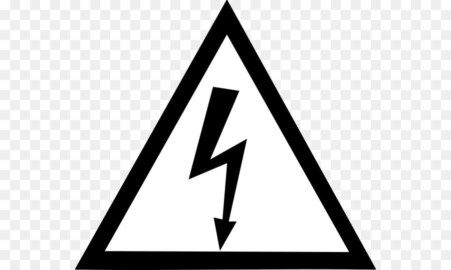 Warning Sign Electricity Hazard Symbol High Voltage Png Download