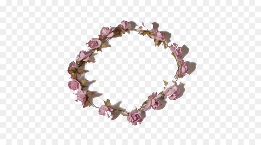flower crown wreath headband lei flower crown png download 500