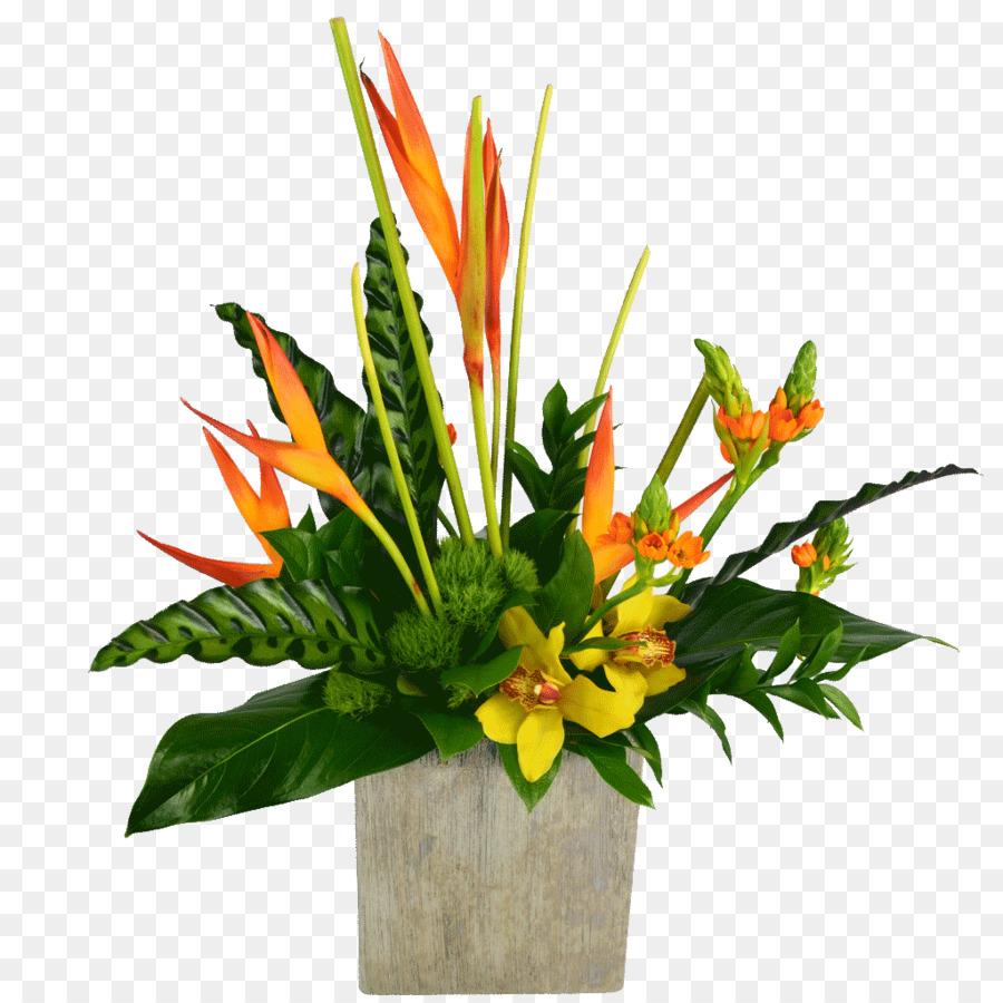 Cut flowers Floristry Floral design Flower bouquet - tropical flower ...