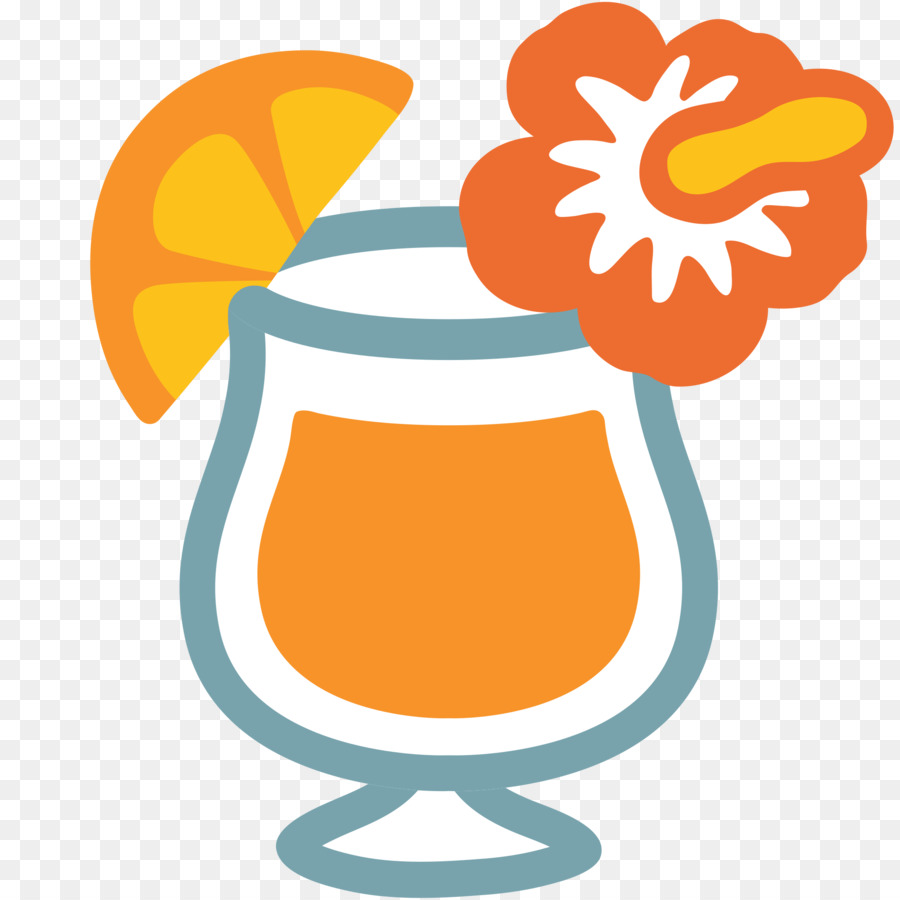 Cocktail-Emoji Trinken Noto-fonts clipart - trinken png ...