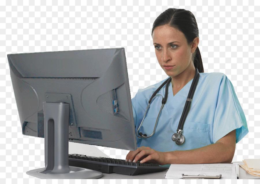 Nursing Computer Unlicensed Assistive Personnel Health Care Clip Art   Nurse