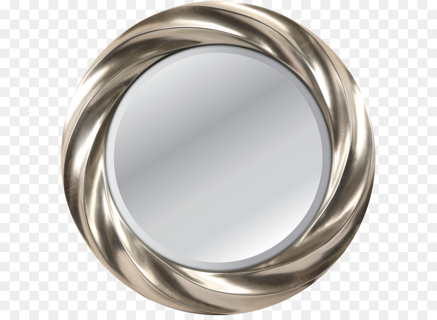 Espejo De Plata Marcos Círculo De Baño - marco de plata png dibujo ...