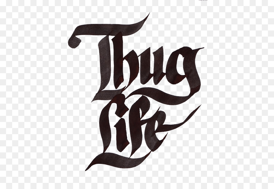 Thug Life Clip art - 2pac