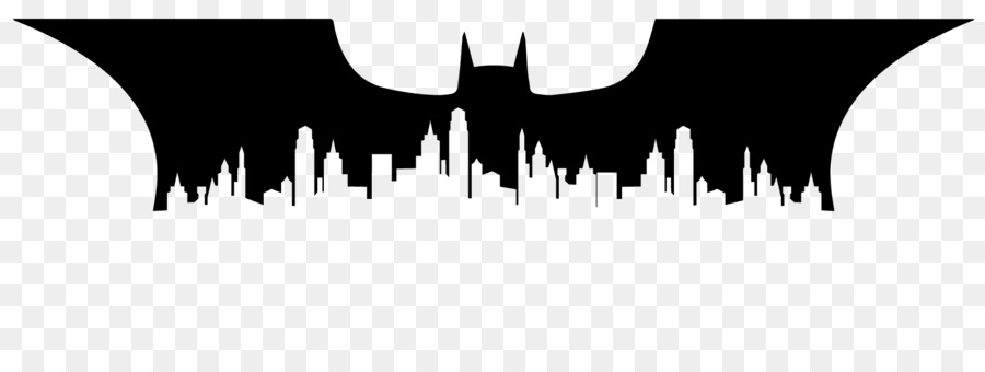 batman joker silhouette gotham city skyline city silhouette png download 1600 593 free sky zone clip art sky zone clip art