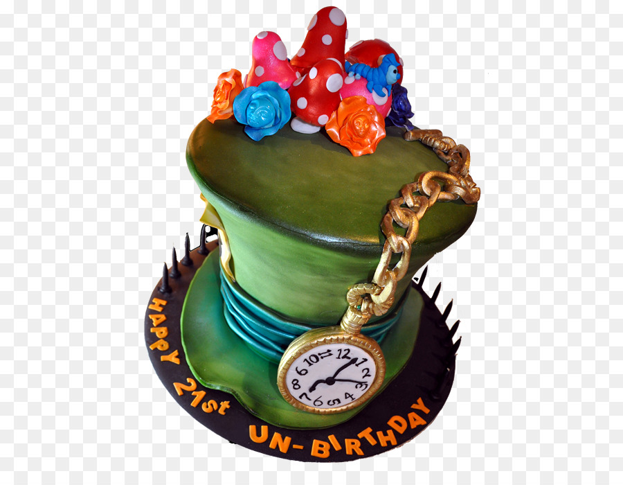 The Mad Hatter Birthday Cake Cupcake Torte Chocolate Cake Mad