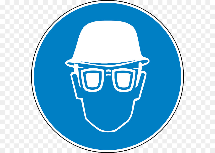 Eye Protection Hard Hats Goggles Symbol Personal Protective