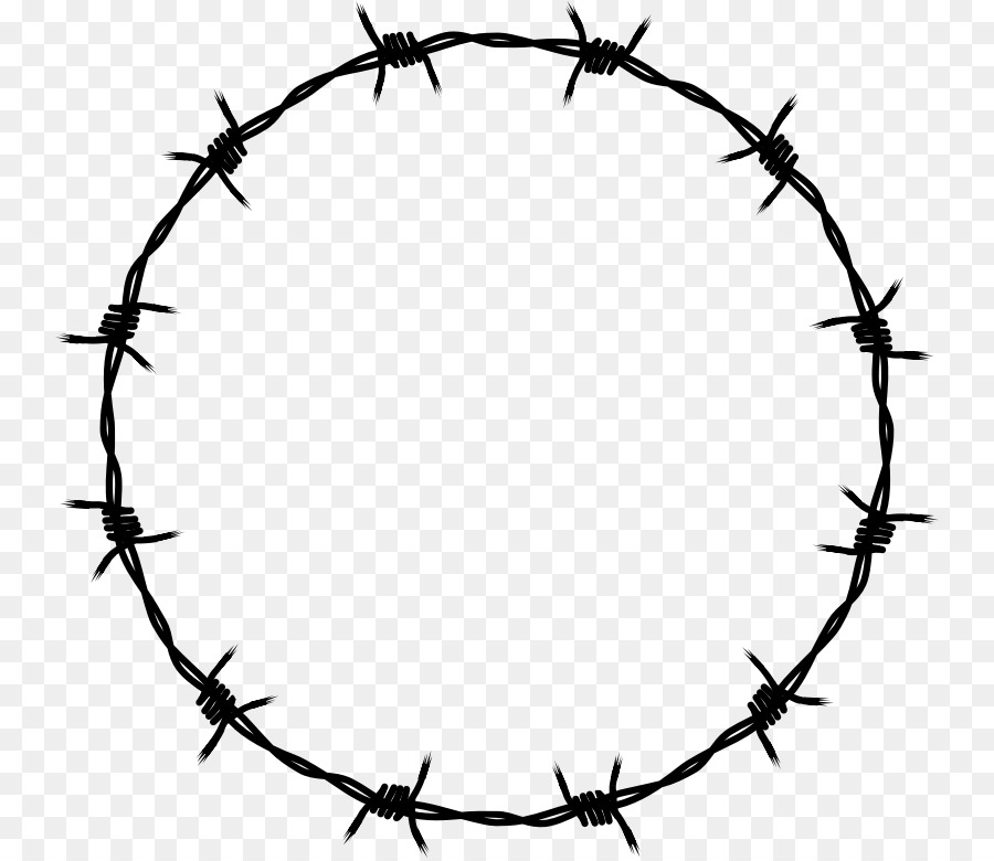 Barbed wire Clip art - barbwire png download - 800*777 - Free ...