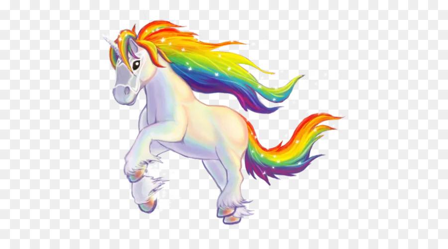 Unicornio Color del arco iris Caballo Clip art - unicornio png ...