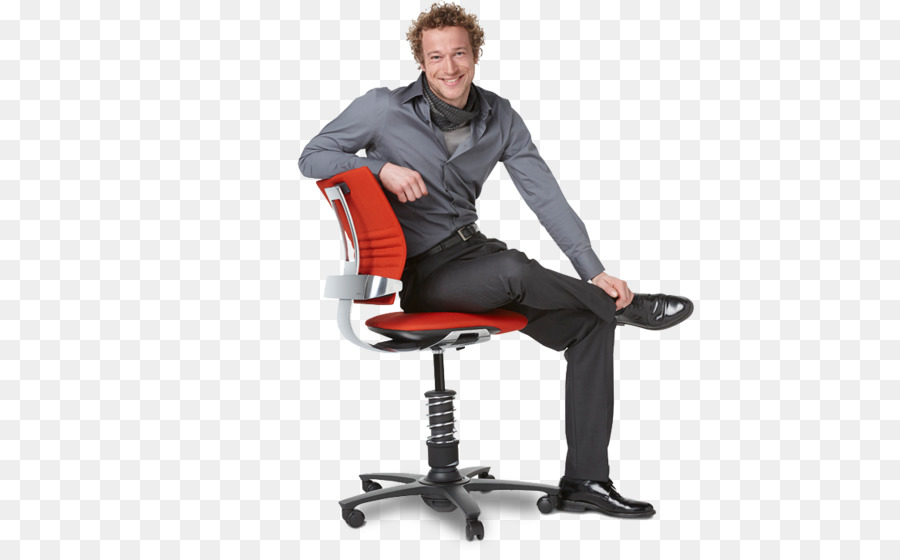 Office Desk Chairs Sitting Man