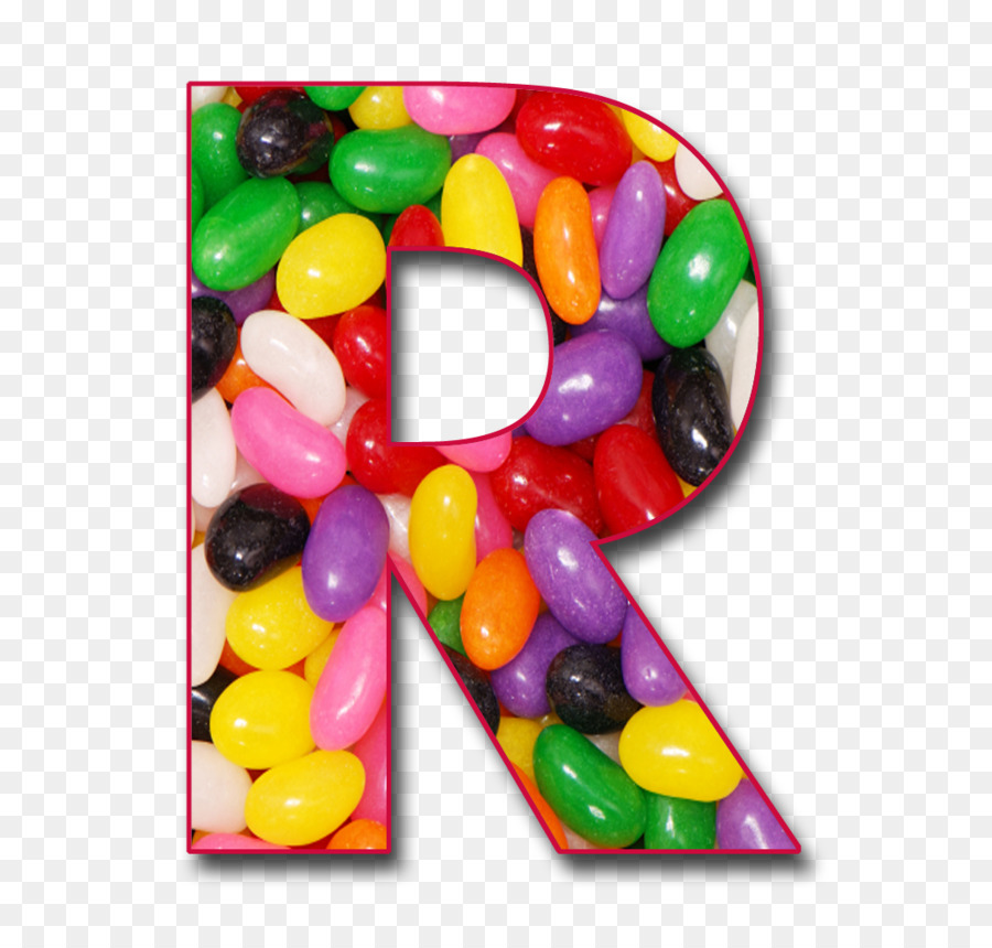 letter case alphabet jelly bean r png download 1055 994 free