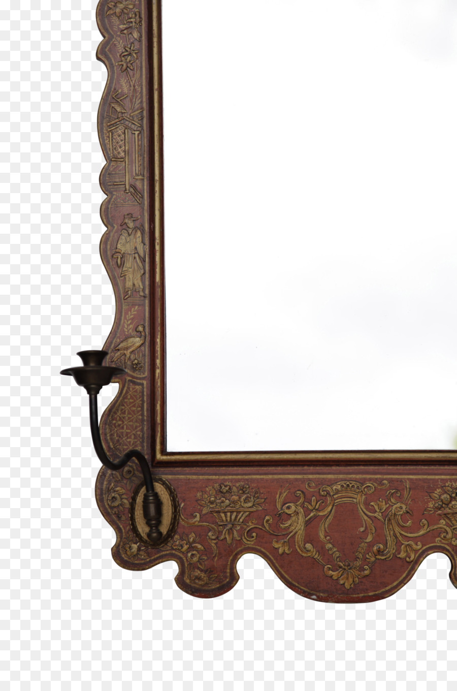 Furniture Antique Mirror Picture Frames Angle Chinoiserie