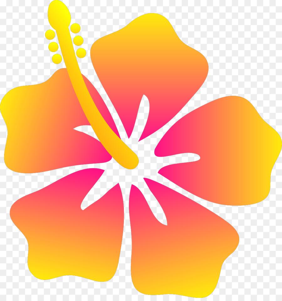 Shoeblackplant Flower Cartoon Clip Art Plumeria Png Download