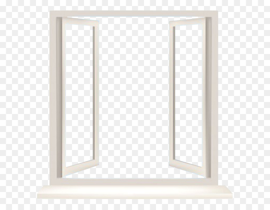 Window Chambranle Picture Frames Wall - white frame png download ...