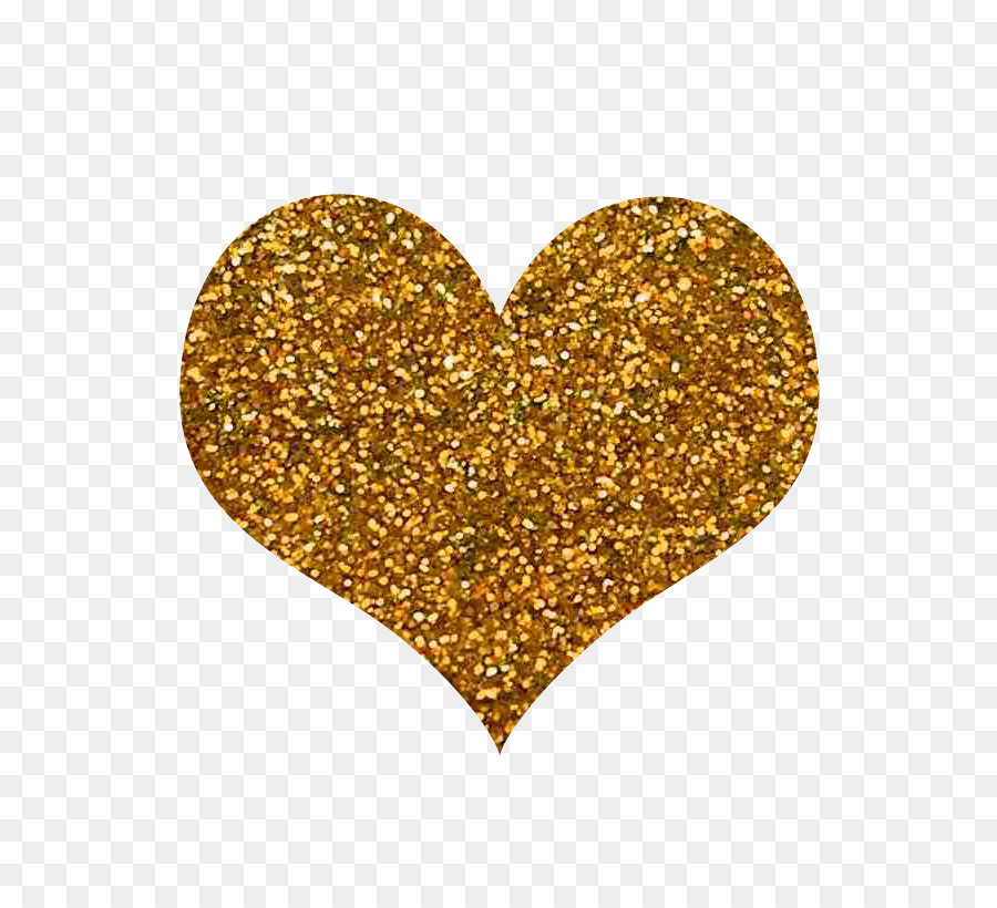 Glitter Gold Nail Polish Color Wall Gold Heart Png Download 800