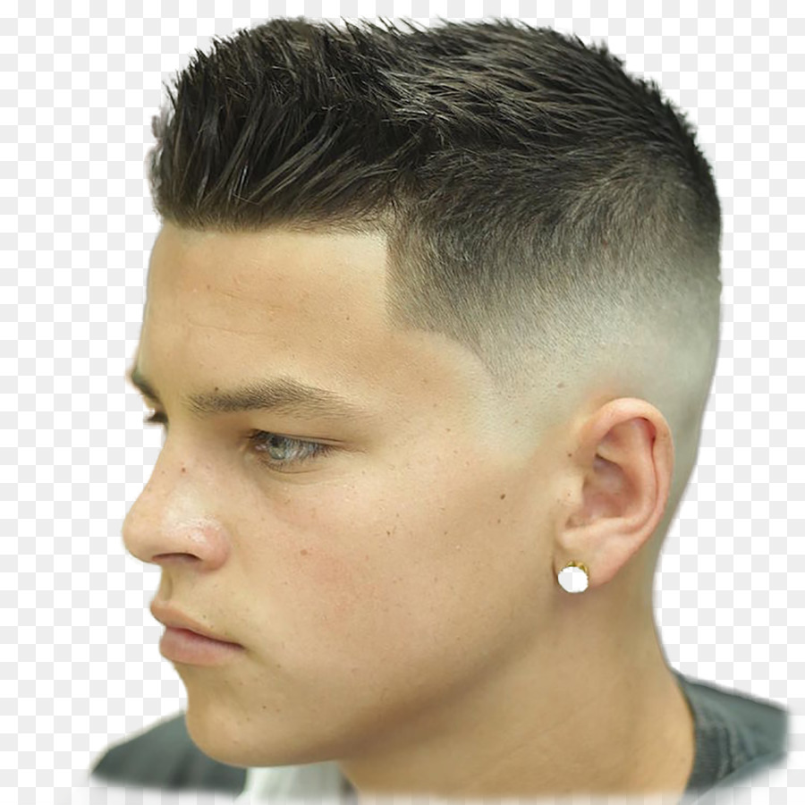 Hairstyle Comb Male Boy Haircut Png Download 1400 1400 Free