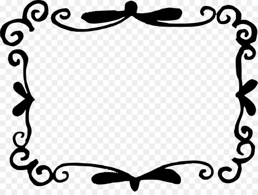 Picture Frames Label Clip art - vector border png download ...
