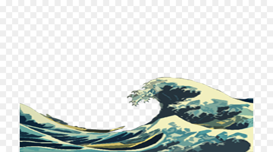Die Große Welle Vor Kanagawa Wind Wave Desktop Wallpaper Welle Png
