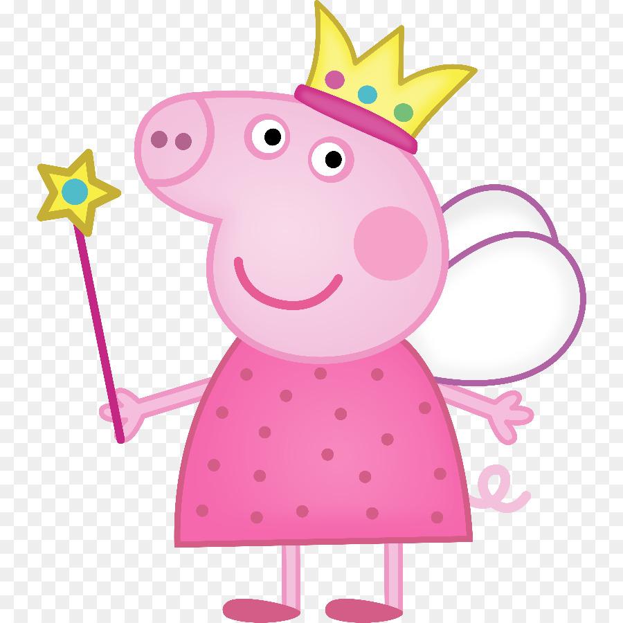 Daddy Pig Princess Peppa Clip Art Peppa Pig Png Download