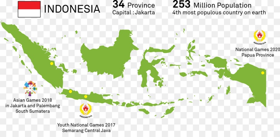 Indonesia Vector Map