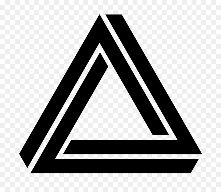 Penrose Triangle Symbol Triangle Png Download 962830 Free