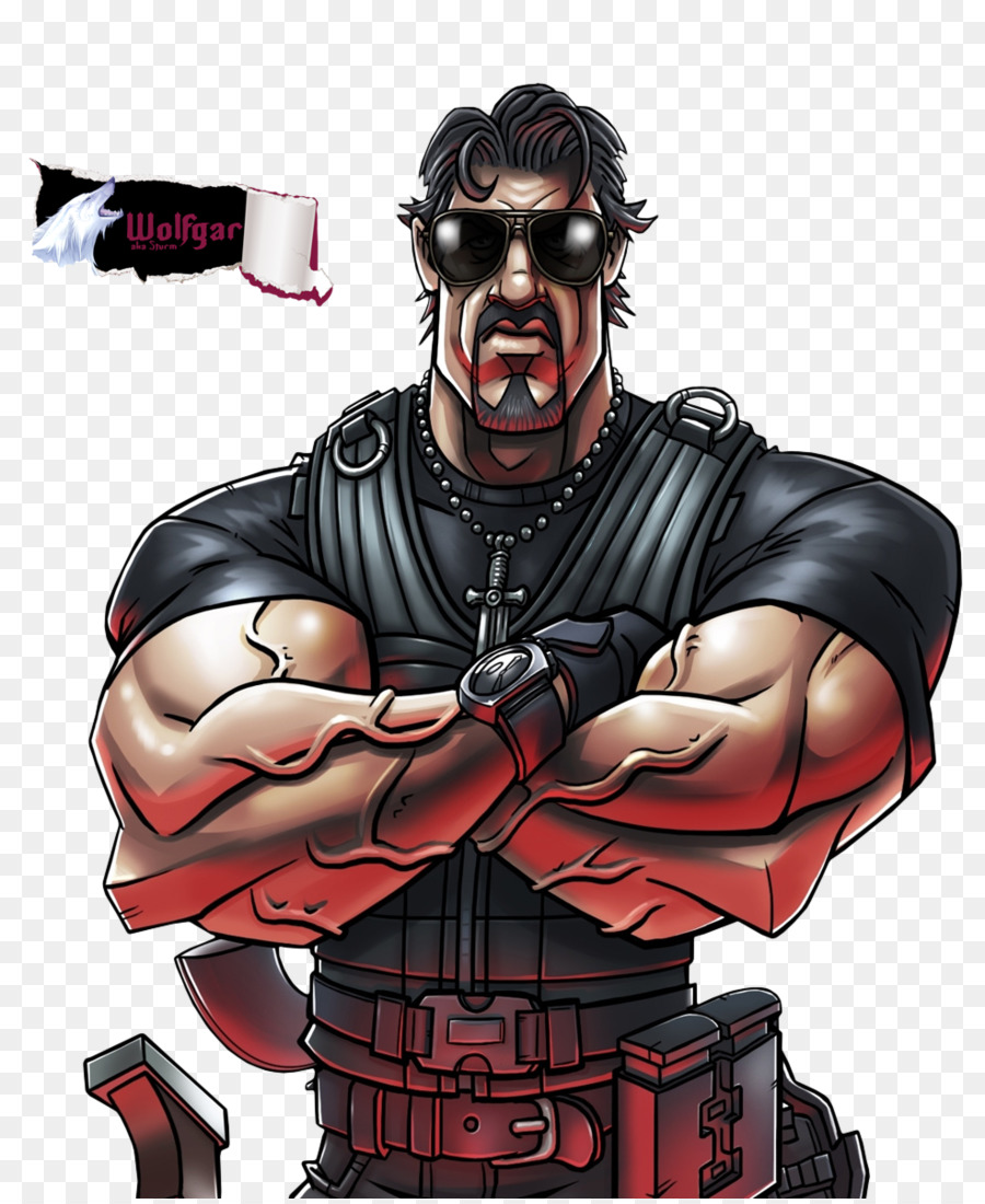 sylvester stallone the expendables 2 drawing wallpaper - rambo png