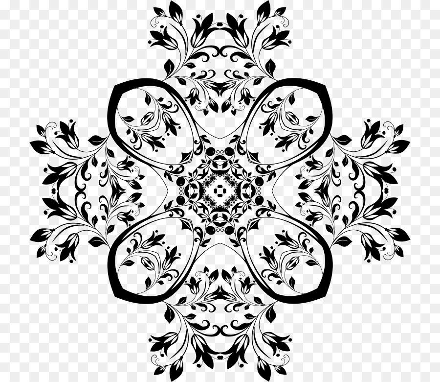 Flower Mandala Floral design - MOTIF png download - 780*780 - Free ...