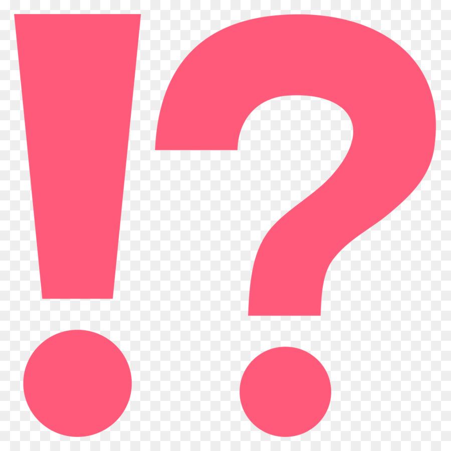 Question Mark Emoji Exclamation Mark Interrobang Symbol