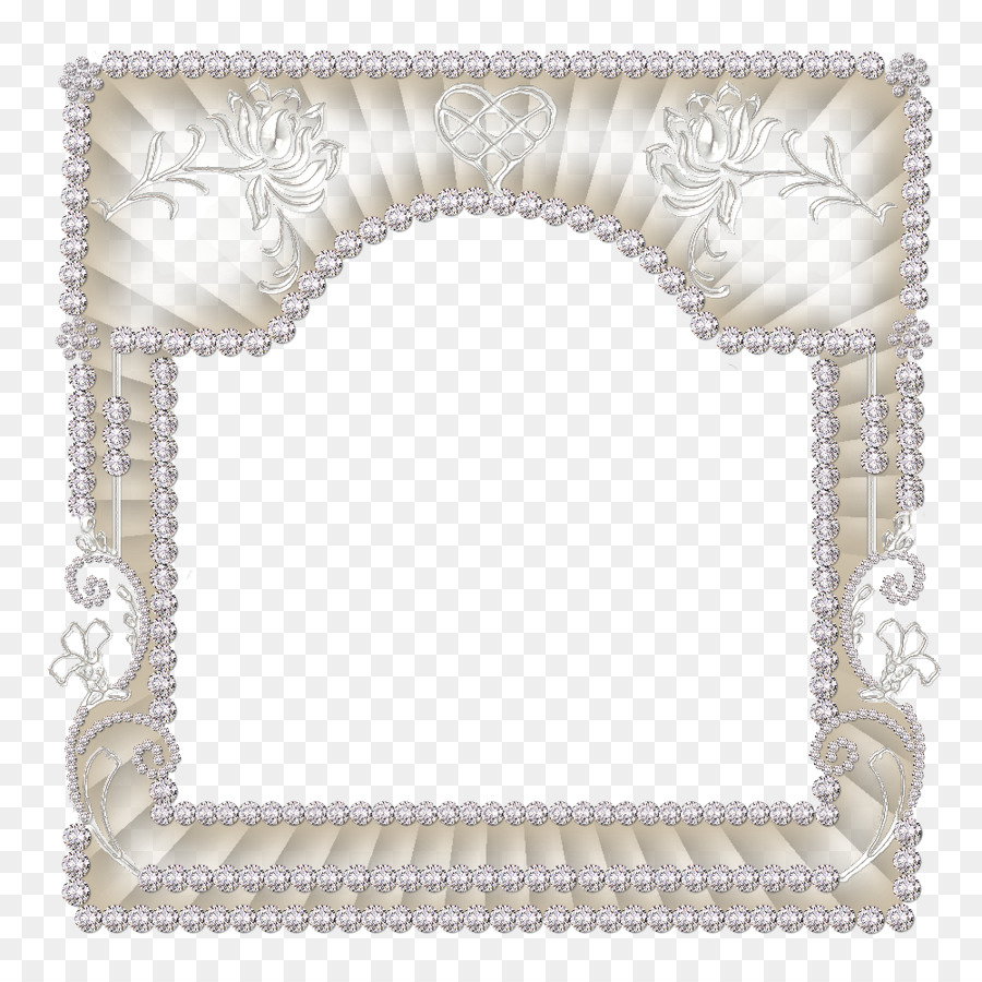 Picture Frames Silver - bling png download - 1000*1000 - Free ...