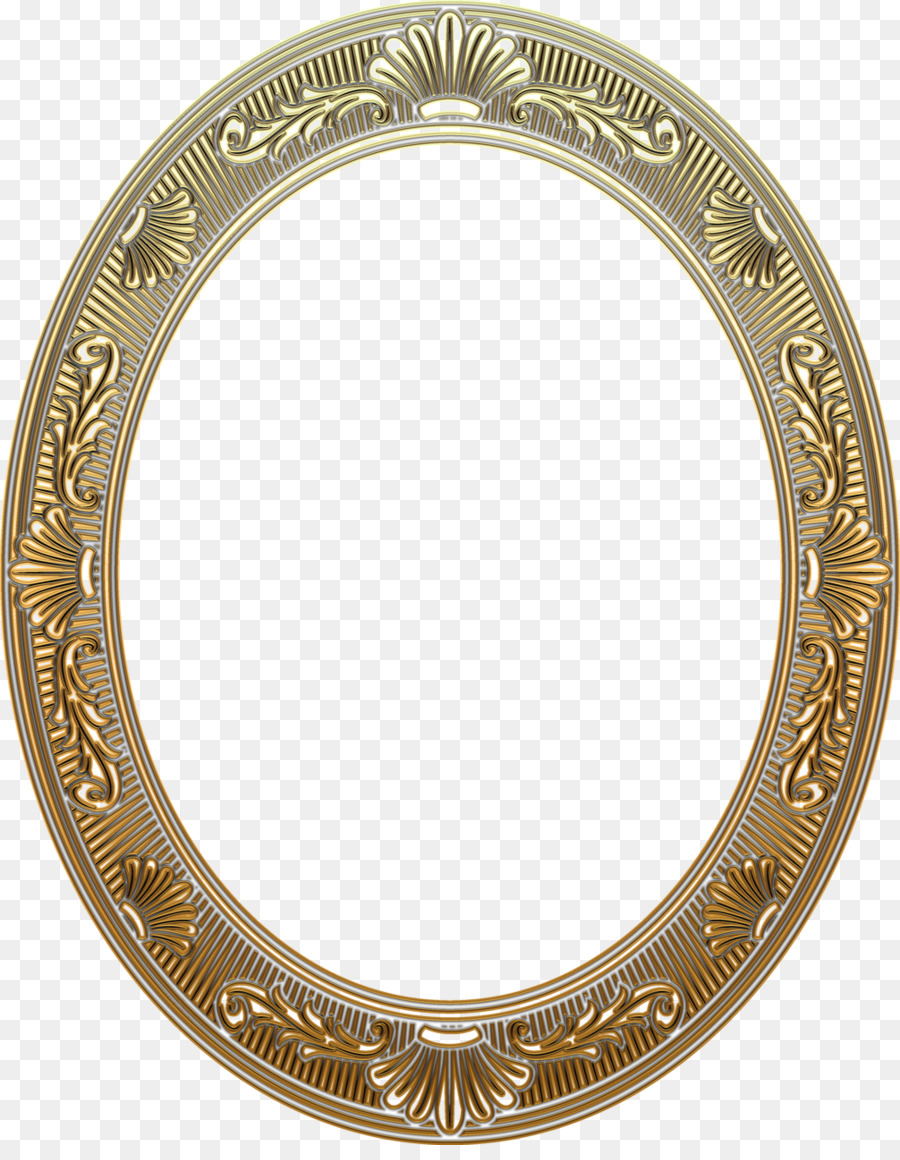 Portrait Picture Frames Painting Gold Frame Png Download