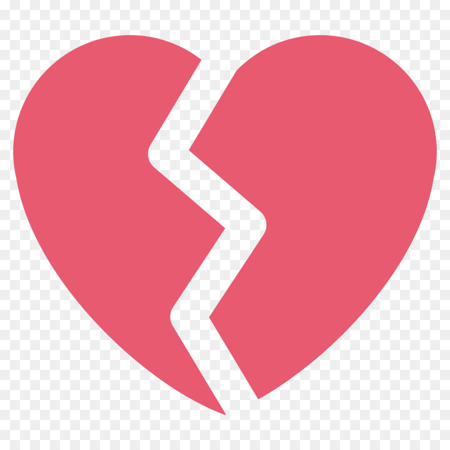 Emoji Broken Heart Emoticon Symbol Broken Heart Png Download