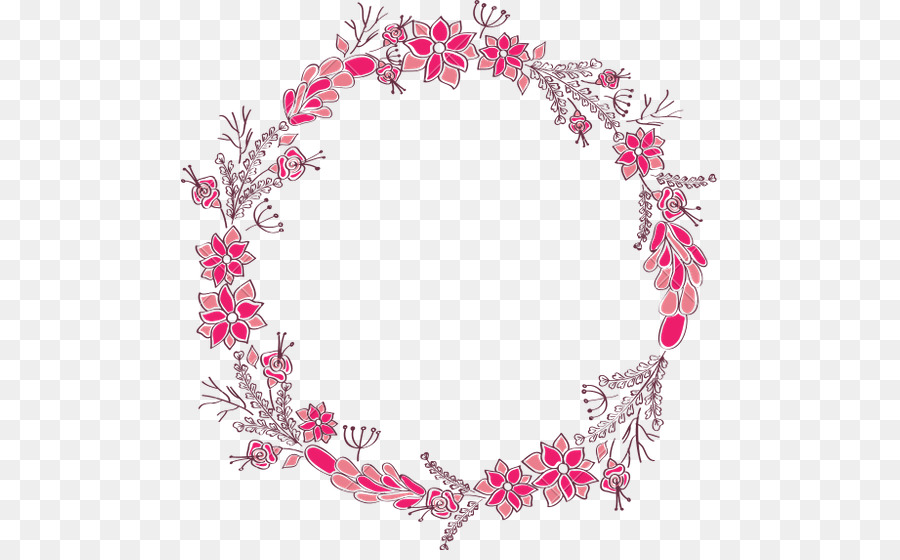 Mother S Day Love Circle Flower 537 550 Transprent Png